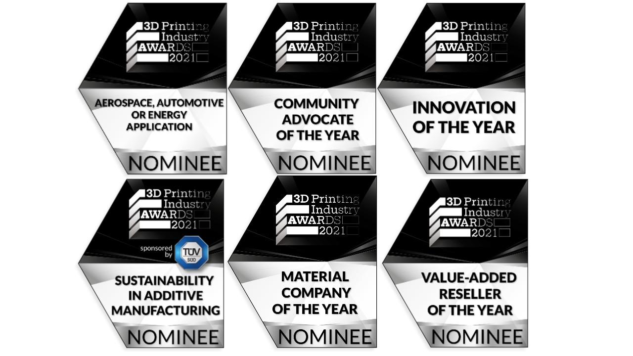 3D printing awards