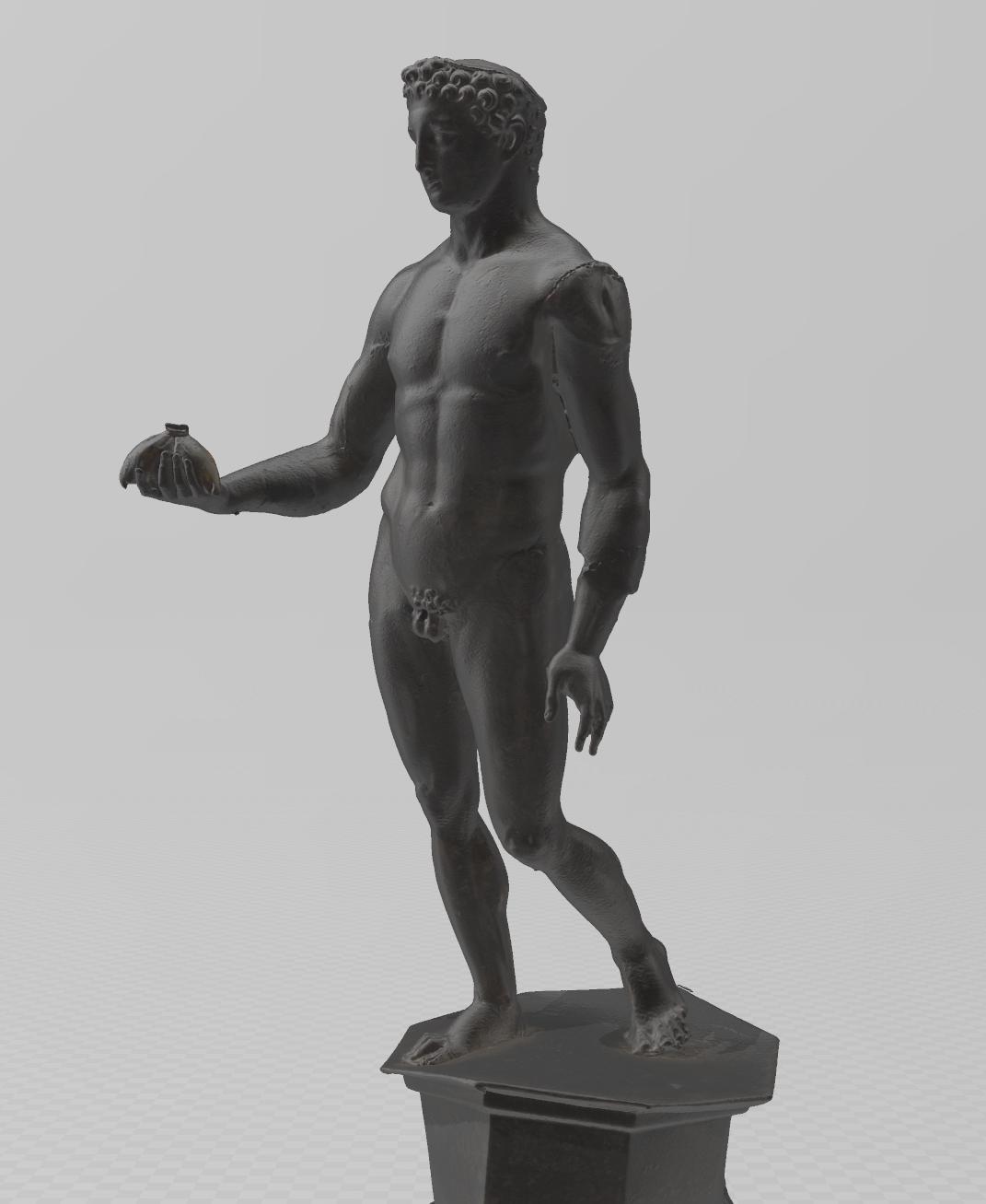 Numérisation 3D Scan Mercure